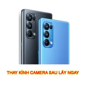 Thay kính camera sau Oppo Reno5 chính hãng lấy ngay zin giá rẻ ở Hà Nội TPHCM