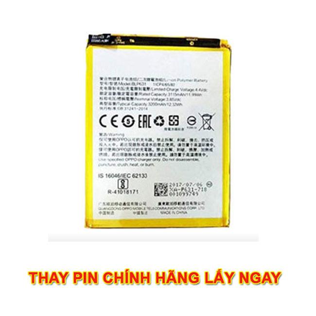 Thay pin Oppo A53 chính hãng mới zin lấy ngay giá rẻ ở hà nội tphcm